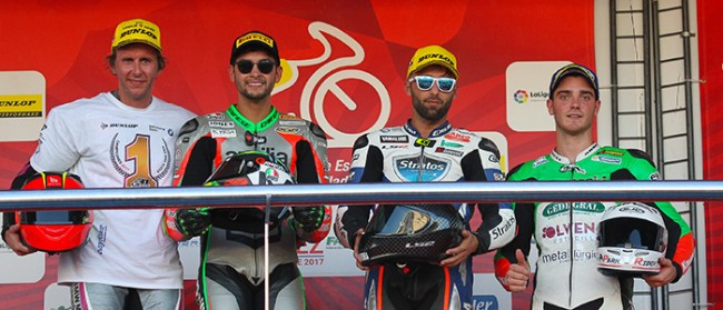 Ángel Rodríguez, Niko Mäkinen y el Yamaha Stratos suben al podio en Jerez