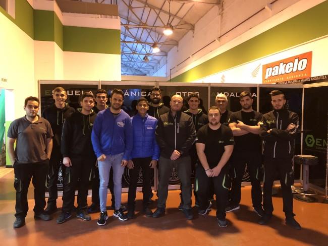 El Team Stratos en el FIMCEV Repsol 2018