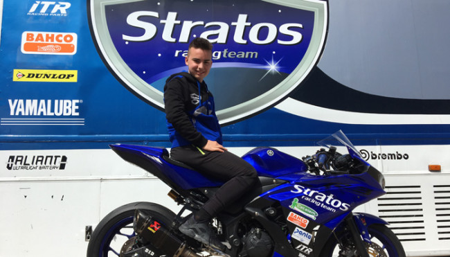 Iker Vera se une al Yamaha Stratos en Supersport300