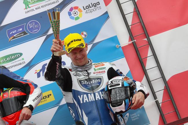 El Team Yamaha Stratos arranca la temporada con cuatro podios en Albacete