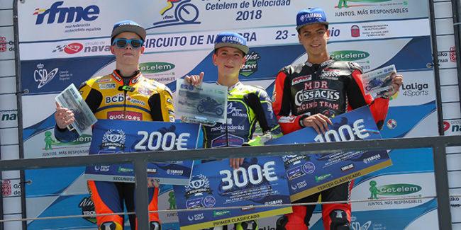 Unai Orradre y el Team Yamaha Stratos se llevan la victoria en el Circuito de Navarra