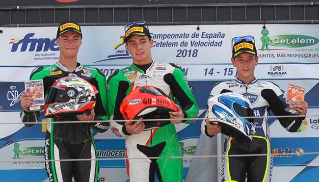 Doble podio de Orradre y el Yamaha Stratos en MotorLand Aragón