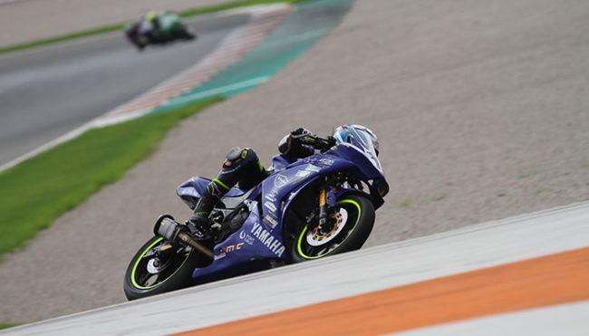 Unai Orradre continúa líder de la Yamaha R3 bLU cRU Challenge y buscará el título en Jerez