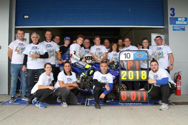 Unai Orradre y el Yamaha Stratos consiguen el título de la Yamaha R3 bLUcRU Challenge