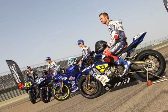 El Team Yamaha Stratos renueva con Yamaha Motor España para 2019