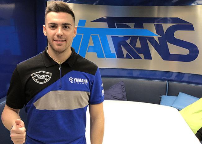 Federico Sandi se une al Yamaha Stratos en el Campeonato de España de Velocidad