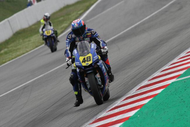 Federico Sandi, Rebecca Bianchi y el Yamaha Stratos luchan por la pole en Montmeló