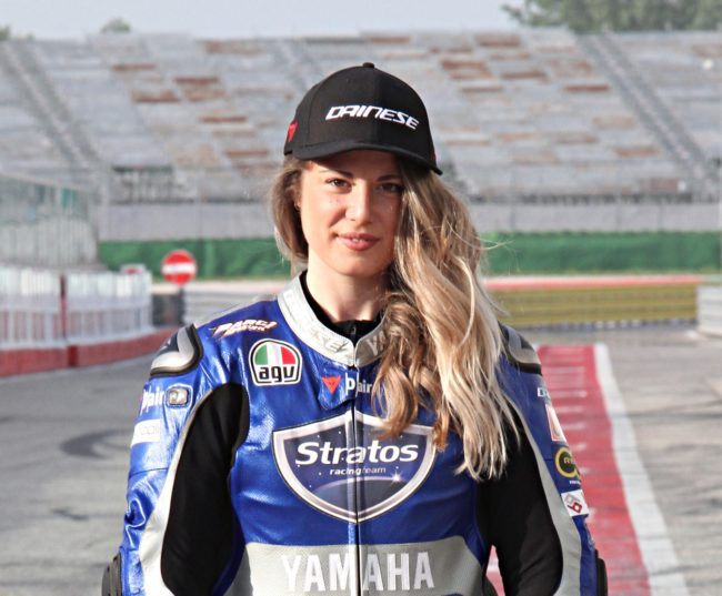 Rebecca Bianchi se une al Yamaha Stratos Team para luchar por el ESBK Femenino