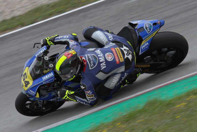Los pilotos del Team Yamaha Stratos llegan a Albacete preparados para luchar por el podio en SBK