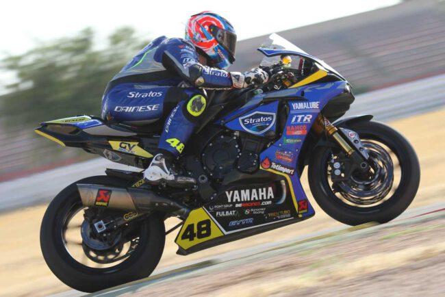 Sabor agridulce para el Yamaha Stratos en el Circuito de Albacete