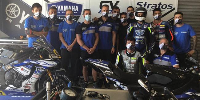 Comienza el ESBK 2020 con un Yamaha Stratos más internacional que nunca