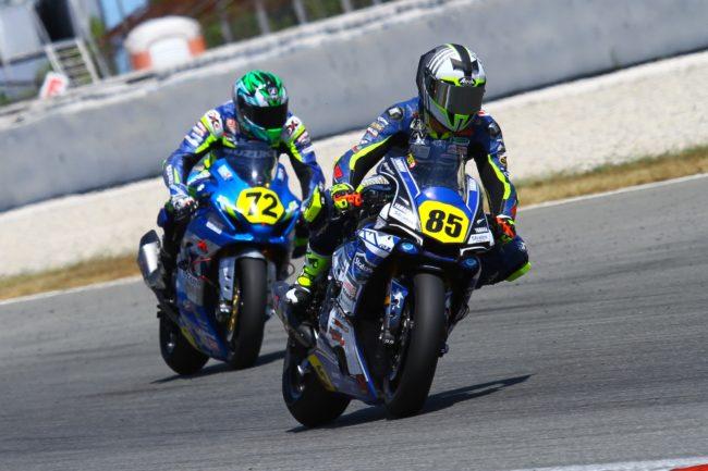 Los pilotos del Yamaha Stratos baten sus registros en la segunda carrera de Barcelona