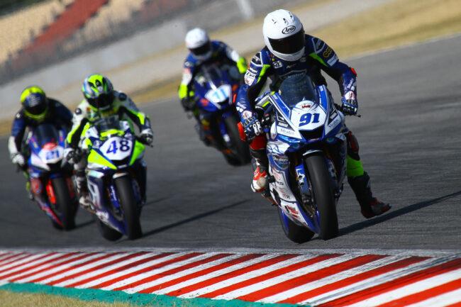 El Team Yamaha Stratos afronta la tercera prueba del ESBK