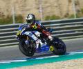 Día de trabajo intenso para los pilotos del Yamaha Stratos en el Circuito de Jerez