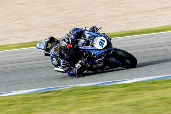 Comienza la lucha por el título del ESBK 2021 con el Yamaha GV Stratos más preparado que nunca